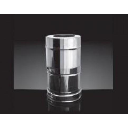 Дымоход Craft AISI 316/0,5мм + 304/0,5мм зеркало, изоляция 25мм, 0,5 м, диаметр 200