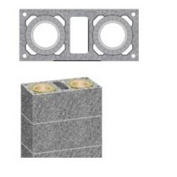 Дымоход SCHIEDEL UNI двухходовой стандартный комплект с вентиляционным каналом