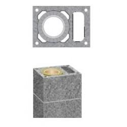 Дымоход SCHIEDEL UNI одноходовой стандартный комплект с вентиляционным каналом