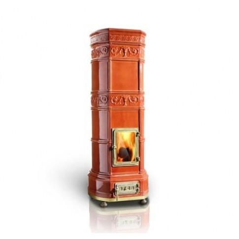 Печь-камин La Castellamonte GRAND'OVALE 5 размер с водяным контуром