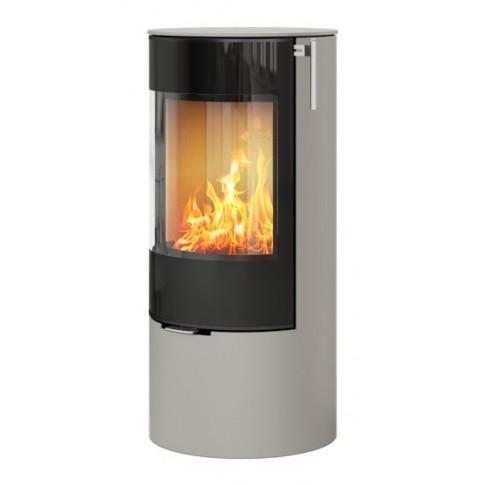 Печь-камин RAIS Viva L 100 со стеклянной дверкой цветная