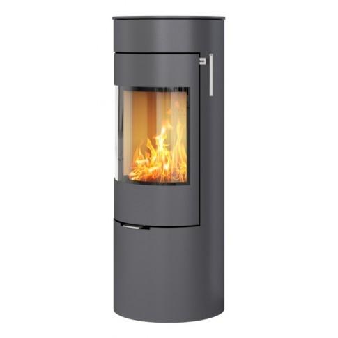 Печь-камин RAIS Viva L 120 со стальной дверцей цветная