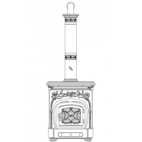 Печь-камин SERGIO LEONI LIBERTY WOOD