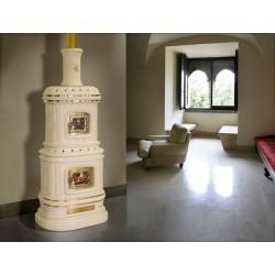 Печь-камин SERGIO LEONI VIENNESE WOOD WITH WOOD