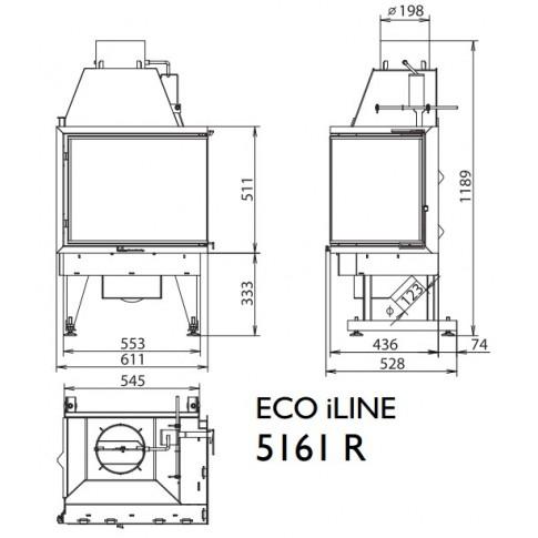 Топка KFD ECO iLINE 5161 L/R