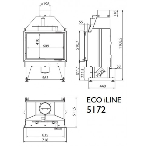 Топка KFD ECO iLINE 5172