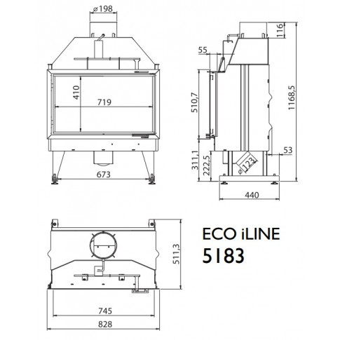 Топка KFD ECO iLINE 5183