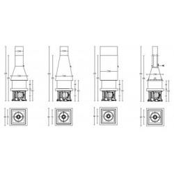 Топка Piazzetta M360 Q- Квадратный купол